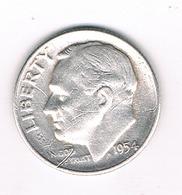 DIMES 1954   USA /0881/ - Émissions Fédérales