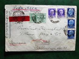 (15428) STORIA POSTALE ITALIA 1939 - 1900-44 Victor Emmanuel III