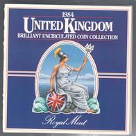 UNITED KINGDOM GRAN BRETAGNA 1984 OFFICIAL SET  UNCIRCULATED COIN COLLECTION - Gran Bretagna