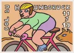 CPM ERGON - Le Col Du Hundsruck - Tour De France 2019 - Cycliste - Vélo - Cyclisme - Illustrateurs - Illustrateur - Ergon