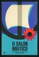 Barcelona *II Salón Náutico* Dep. Legal B. 21783. Matasellos Especial Día Clausura 8 Mar 1964. - Eventos