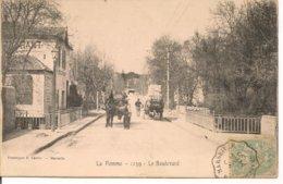 L200A_195 - Marseille - La Pomme - 1239 Le Boulevard - Attelages - Saint Marcel, La Barasse, Saintt Menet