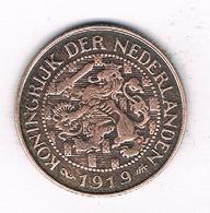 1 CENT 1919 NEDERLAND  /0888/ - [ 3] 1815-… : Royaume Des Pays-Bas