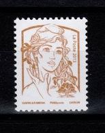 Rare - Marianne De Ciappa-Kawena, Vignette Impression Or N** , Sans Valeur D'affranchissement - 2013-... Marianne De Ciappa-Kawena