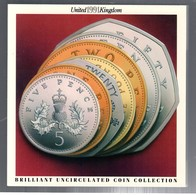 UNITED KINGDOM GRAN BRETAGNA 1991 OFFICIAL SET  UNCIRCULATED COIN COLLECTION - Gran Bretagna