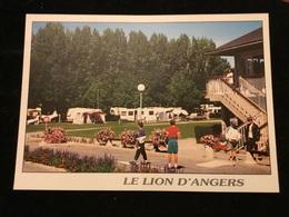 Le Lion D Angers Le Camping Cpm - Angers