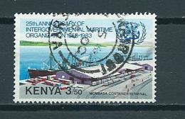 1983 Kenia Mombassa Harbour Used/gebruikt/oblitere - Kenia (1963-...)