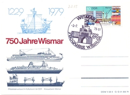 GERMANY  750 JHARE WISMAR  1979    (GEN190275) - [6] Democratic Republic
