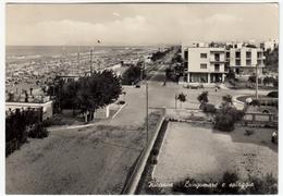 RICCIONE - LUNGOMARE E SPIAGGIA - RIMINI - 1959 - Rimini