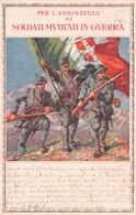 Cartolina Assistenza Soldati Mutilati In Guerra Sede Milano VG - Cartoline