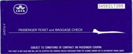 Ticket/Billet D'Avion. Iata/Sabena. Brussels/Birmingham/Void/London/Brussels.  1982 - Billets D'embarquement D'avion