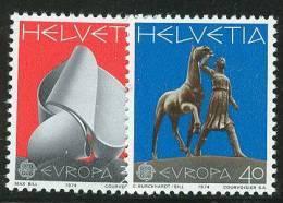 SWITZERLAND  EUROPA CEPT 1974  MNH - 1974