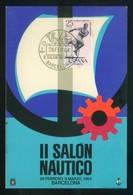 Barcelona *II Salón Náutico* Matasellos Especial Día Inaguración 28 Feb 1964. - Eventos