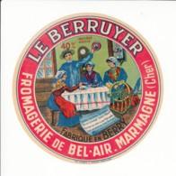 Etiquette De Fromage Camembert - Le Berruyer - Marmagne - Cher. - Fromage