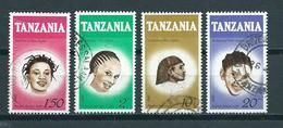 1987 Tanzania Complete Set Hair Used/gebruikt/oblitere - Tanzanie (1964-...)