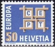 SWITZERLAND 1963 EUROPA CEPT    MNH - Europa-CEPT