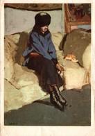 LES CHEFS D'OEUVRES DU MUSEE DE GRENOBLE EDOUARD VUILLARD FEMME AU CORSAGE BLEU - Pittura & Quadri
