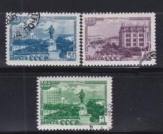 RUSSIE  RUSSIA URSS   :  Yvert  1292 à 1294      Michel 1298 à 1300  (o) - Oblitérés