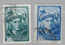 RUSSIE  RUSSIA URSS   :  Yvert  1222 1223    Michel  1242 1243  (o) - Oblitérés