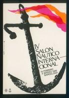 Barcelona *IV Salón Náutico Internacional* Imp. Poster S.L. Nueva. - Eventos
