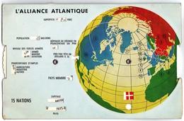 Carte A Systeme Roulette L'alliance Atlantique( Otan) - A Systèmes