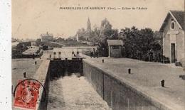 MARSEILLES-LES-AUBIGNY ECLUSE DE L'AUBOIS - France