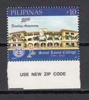 Filippine Philippines Philippinen Filipinas 2014 Saint Louis College La Union, 50th Anniversary 10p. - MNH** (see Photo) - Filippine