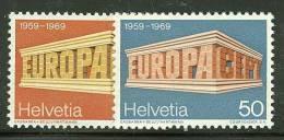 SWITZERLAND  1969 EUROPA CEPT  MNH - 1969