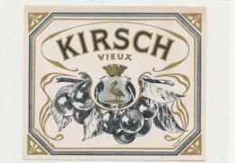 AN 364-/ ETIQUETTE  -  KIRSCH  VIEUX - Labels