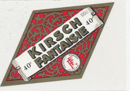 AN 369 -/ ETIQUETTE  -  KIRSCH  FANTAISIE  FRAIOLI FRERES THIAIS - Labels
