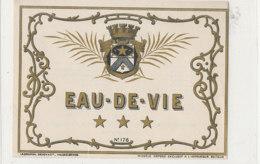 AN 381 -/ ETIQUETTE    EAU DE VIE   N° 178 - Labels