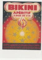 AN 392 -/ ETIQUETTE  BIKINI  APERITIF A BASE DE VIN  BORDEAUX - Labels