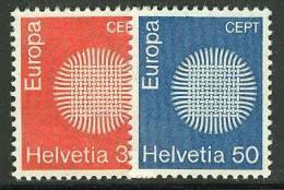 SWITZERLAND  1970 EUROPA CEPT  MNH - 1970