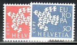 SWITZERLAND 1961 EUROPA CEPT SET  MNH - 1961
