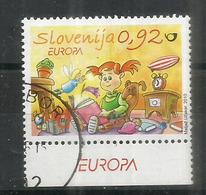 SLOVENIE. Europa 2010, Livres Pour Enfants, Timbre Oblitéré, 1 ère Qualité - Europa-CEPT