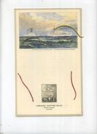 Congo Belge : Menu Du M.S. ALBERTVILLE Compagnie Maritime Belge CMB C.M.B. ANVERS-1954  ( See Detail ) - Menus