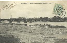 Bezons  Nanterre Berges De Seine Et Pont De Bezons - Bezons