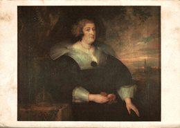 LES CHEFS D'OEUVRES DU MUSEE DE LILLE ANTON VAN DICK PORTRAIT DE MARIE DE MEDICIS - Peintures & Tableaux
