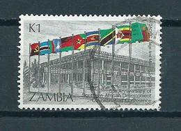 1985 Zambia Lusaka Used/gebruikt/oblitere - Zambia (1965-...)
