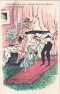 """Illustrateur BONNOLLE """"Vous M'aviez Demandé D'être Témoin à Votre Mariage?"""" (lot Pat 47) - Humor"""