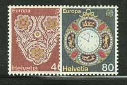 SWITZERLAND  1976 EUROPA CEPT   MNH - 1976