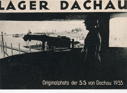 LAGER DACHAU-Originalphoto Der SS Von Dachau 1933-Integra Originale Al100%-an2 - Autres