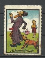 GERMANY Ca 1910 Schadenfreude Vignette Cinderella (*) - Vignetten (Erinnophilie)