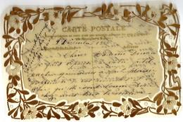 CPA TRANSPARENTE PLASTIFIEE 1906 - Fantaisies