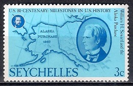 Seychelles 1976 - The 200th Anniversary Of American Revolution - Seychelles (1976-...)