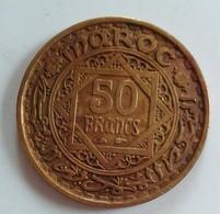 MAROC 50 FRANCS EMPIRE CHERIFIEN 1371    (B6-19) - Maroc