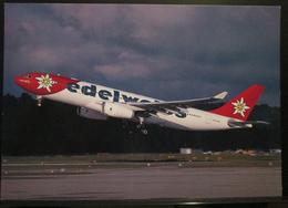 EDELWEISS AIR Swizerland A330-243 HB-IIQZ - 1946-....: Era Moderna