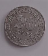 MALAYSIA MALAISIE 20 Cents 1948   (B6-20) - Malaysie