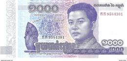 Cambodia - Pick New - 1000 Riels 2016 - 2017 - Unc - Commemorative - Cambodia