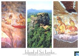 Sri Lanka Postcards, Sigiriya, Prescoes, UNESCO, Postcrossing - Sri Lanka (Ceylon)